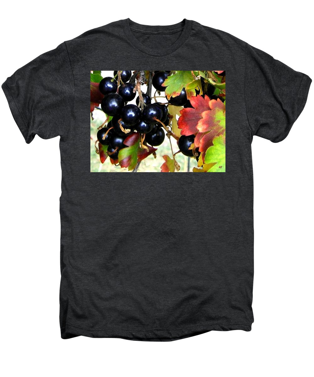 Autumn Men's Premium T-Shirt featuring the photograph Autumn Jostaberries by Will Borden