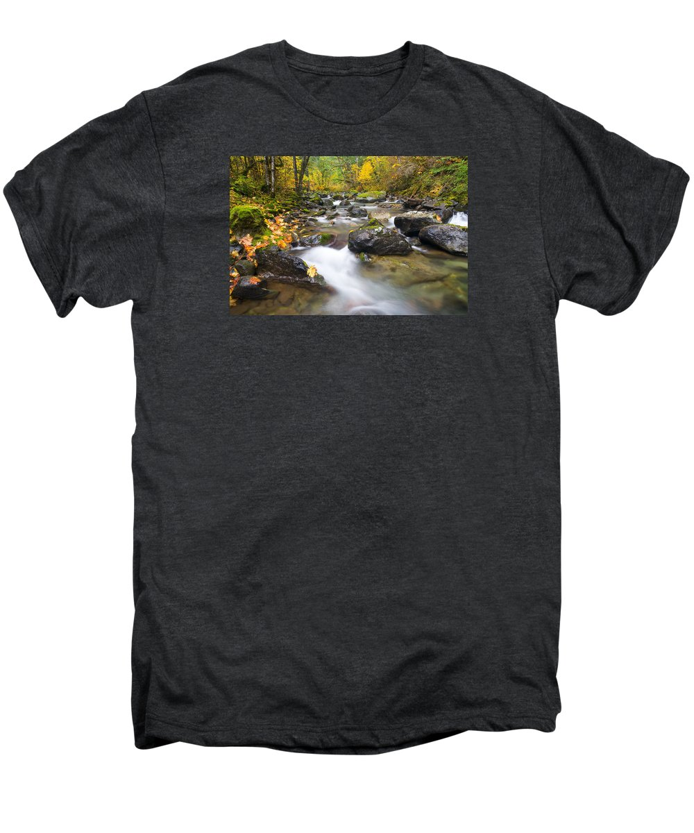 Fall Men's Premium T-Shirt featuring the photograph Autumn Passing by Mike Dawson
