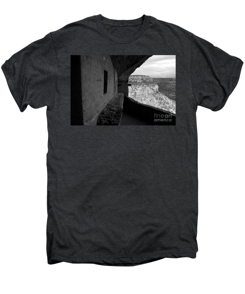 Balcony House Men's Premium T-Shirt featuring the photograph Balcony House by David Lee Thompson