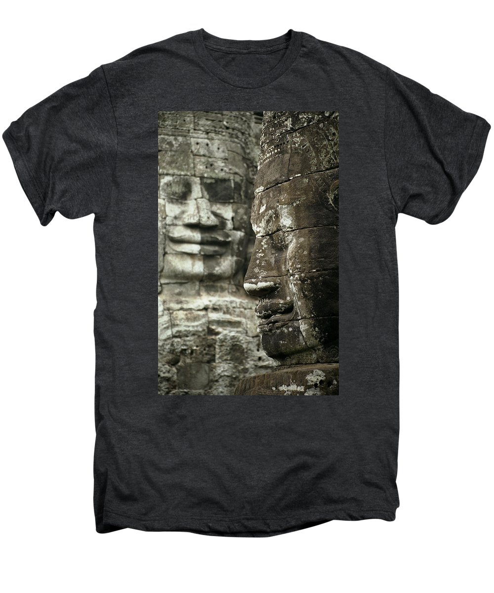 Bayon Men's Premium T-Shirt featuring the photograph Bayonii by Patrick Klauss