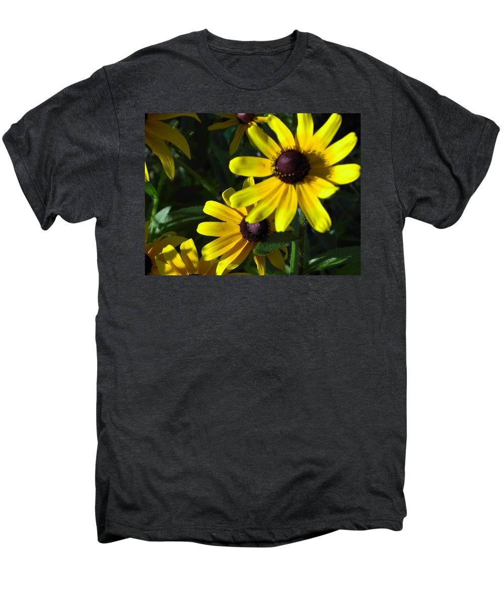 Charity Men's Premium T-Shirt featuring the photograph Black Eyed Susan by Mary-Lee Sanders