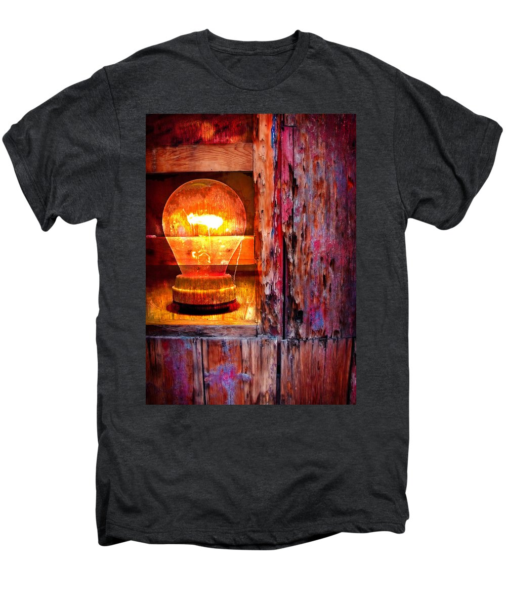 Skip Men's Premium T-Shirt featuring the photograph Bright Idea by Skip Hunt