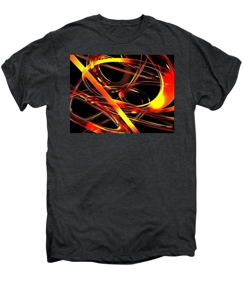 Scott Piers Men's Premium T-Shirt featuring the digital art BWS by Scott Piers