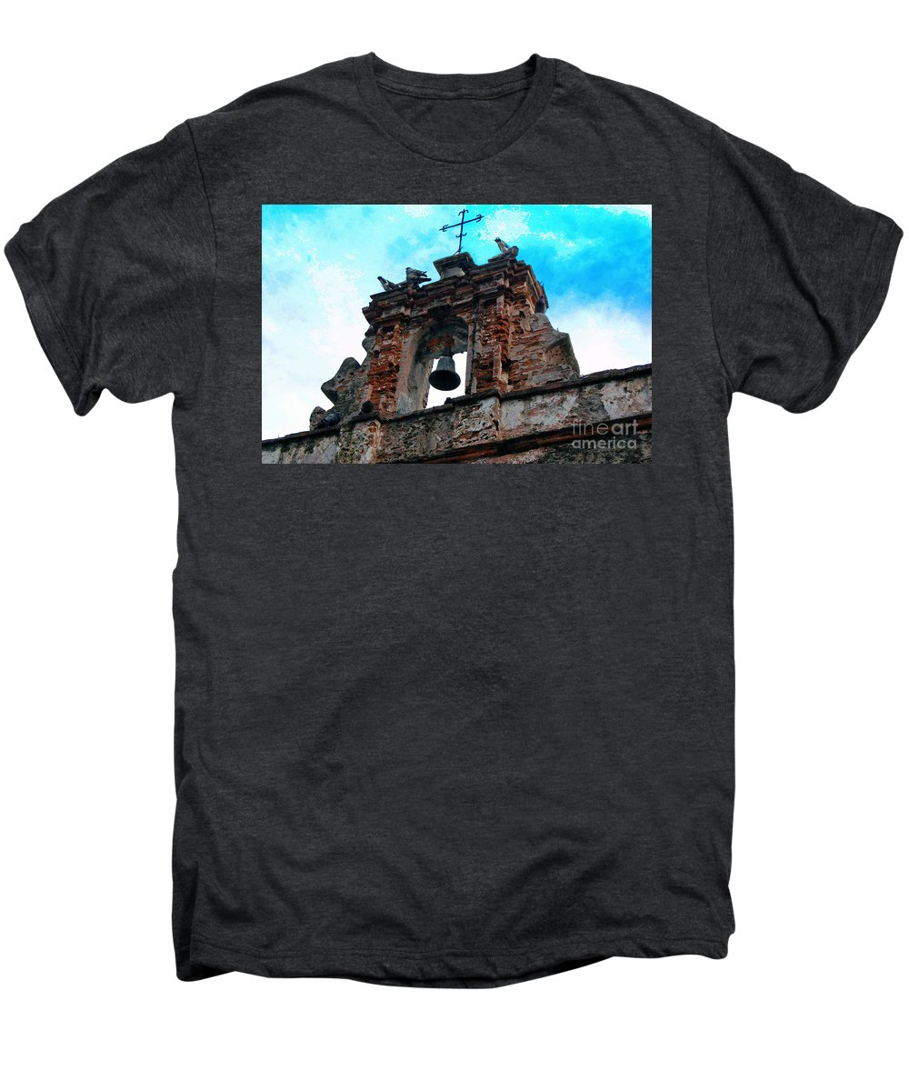 San Juan Men's Premium T-Shirt featuring the photograph Capilla De Cristo  by Debbi Granruth