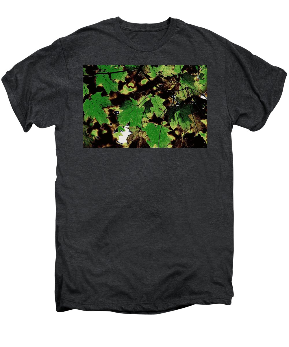 Landscape Men's Premium T-Shirt featuring the photograph Chocolate Pudding by Ed Smith