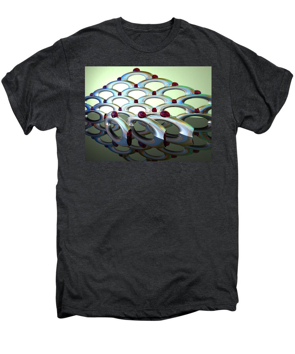 Scott Piers Men's Premium T-Shirt featuring the painting Chrome Sundae by Scott Piers