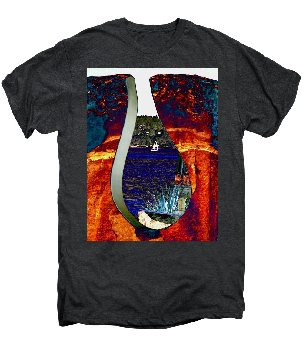 Bremerton Men's Premium T-Shirt featuring the photograph Come Sail Away by Tim Allen