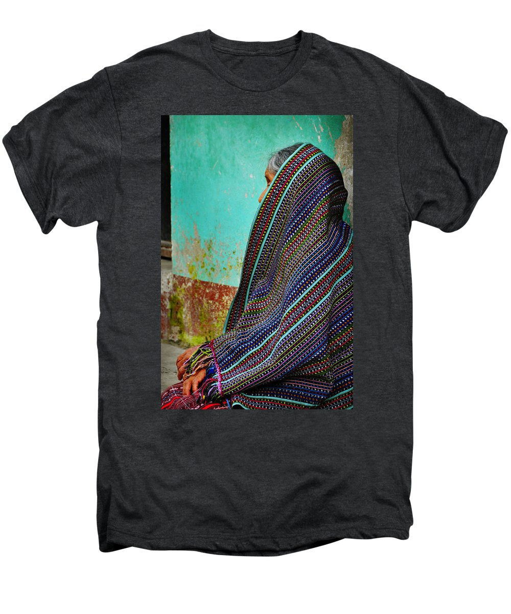 Skip Hunt Men's Premium T-Shirt featuring the photograph Curandera by Skip Hunt