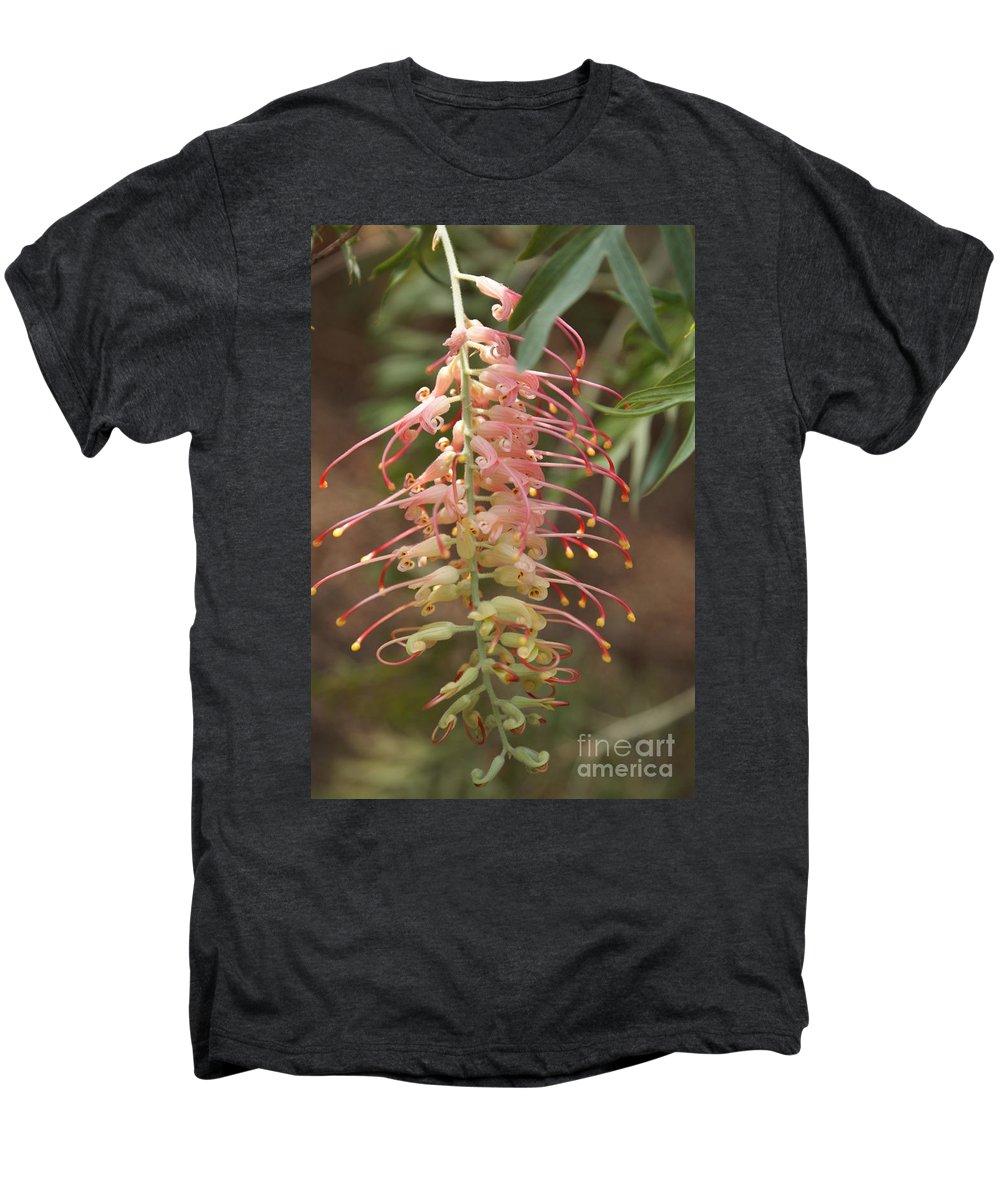 Floral Men's Premium T-Shirt featuring the photograph Dancer by Shelley Jones