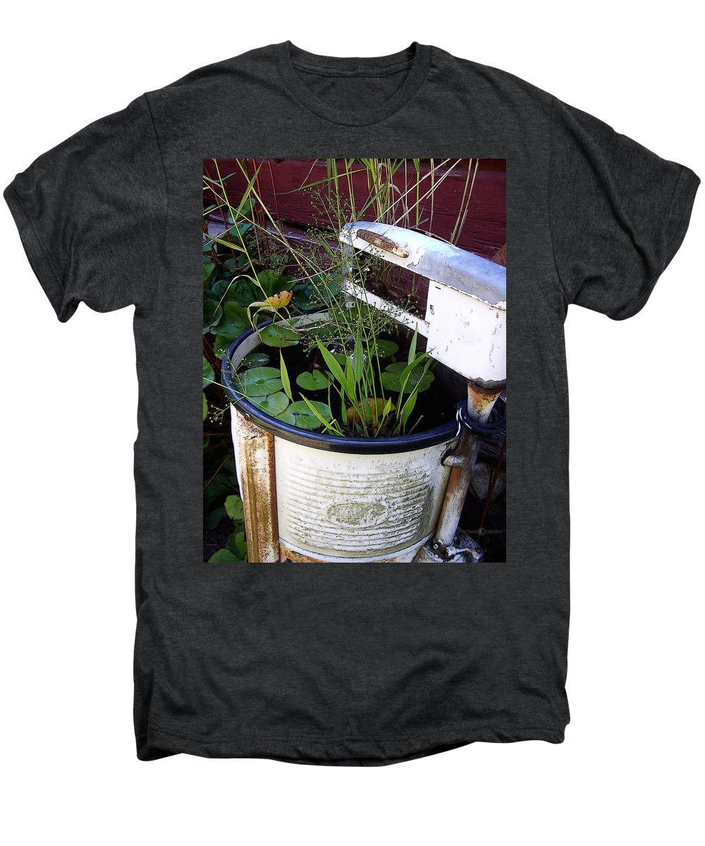 Wringer Men's Premium T-Shirt featuring the photograph Dead Wringer by Tim Nyberg