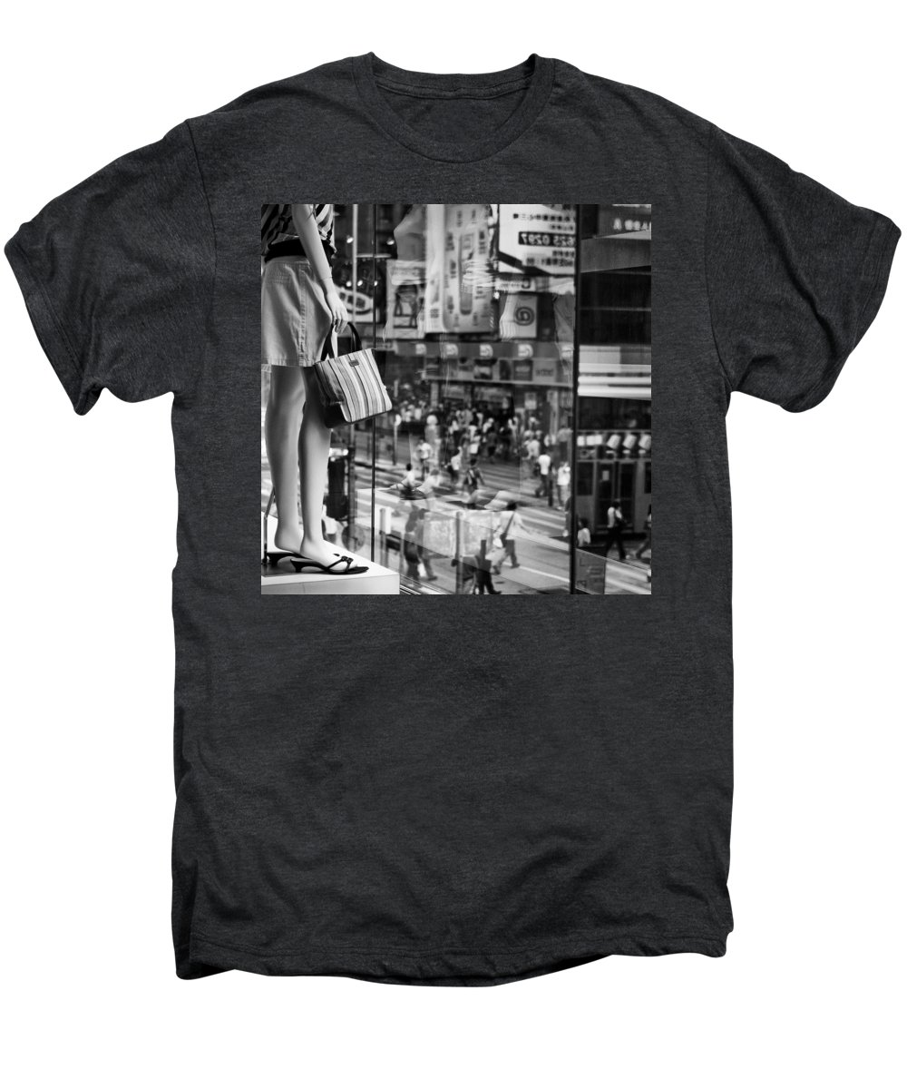 Mannequin Men's Premium T-Shirt featuring the photograph Display by Dave Bowman