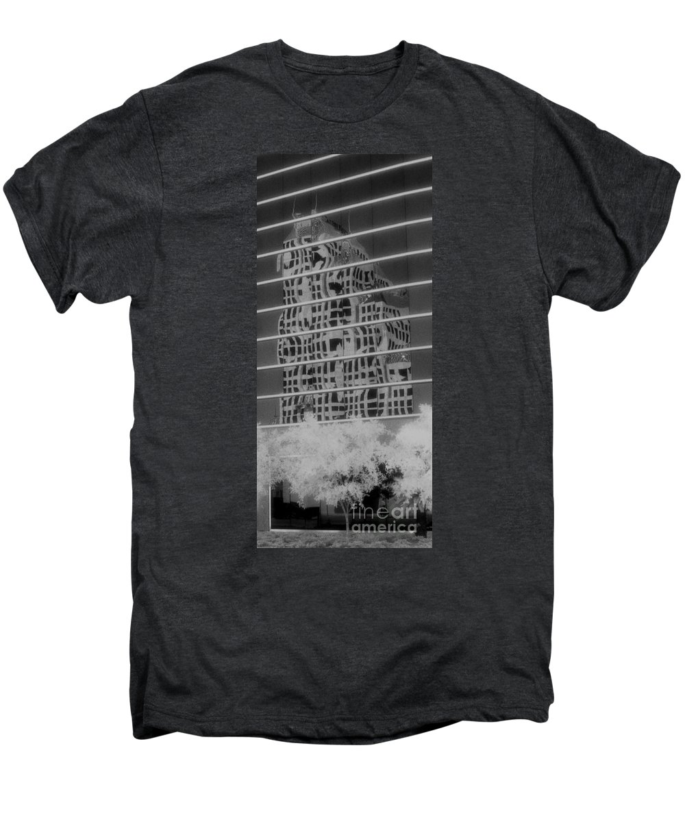 Distorted Men's Premium T-Shirt featuring the photograph Distorted Views by Richard Rizzo