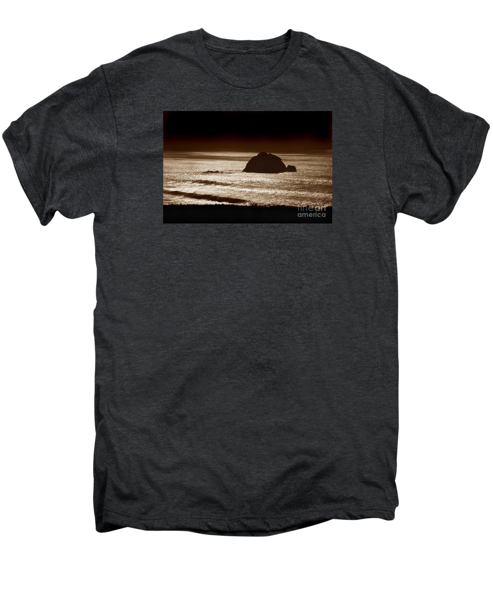 Big Sur Men's Premium T-Shirt featuring the photograph Drama On Big Sur by Michael Ziegler