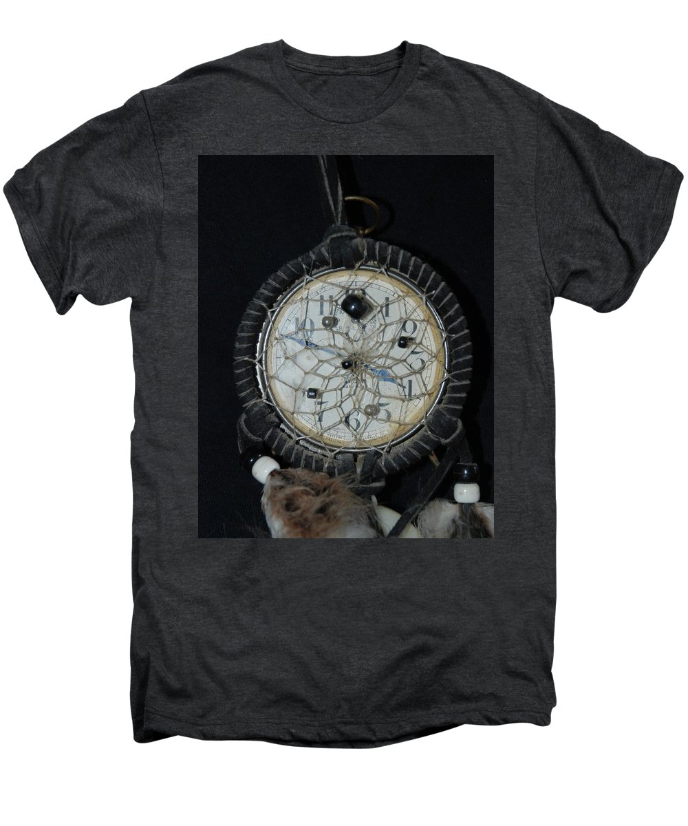 Dream Catcher Men's Premium T-Shirt featuring the photograph Dream Catcher Time by Rob Hans