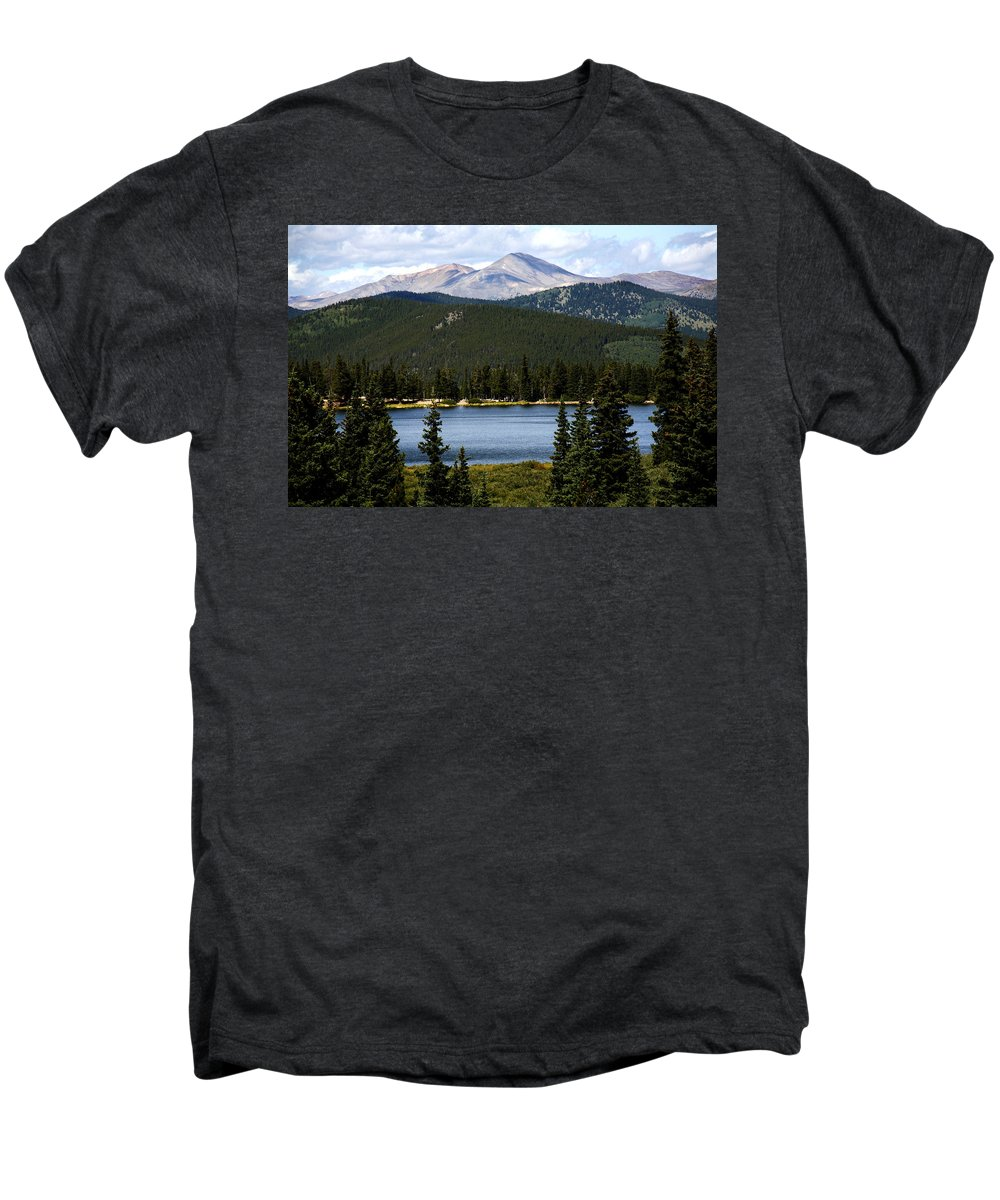 Colorado Men's Premium T-Shirt featuring the photograph Echo Lake Colorado by Marilyn Hunt