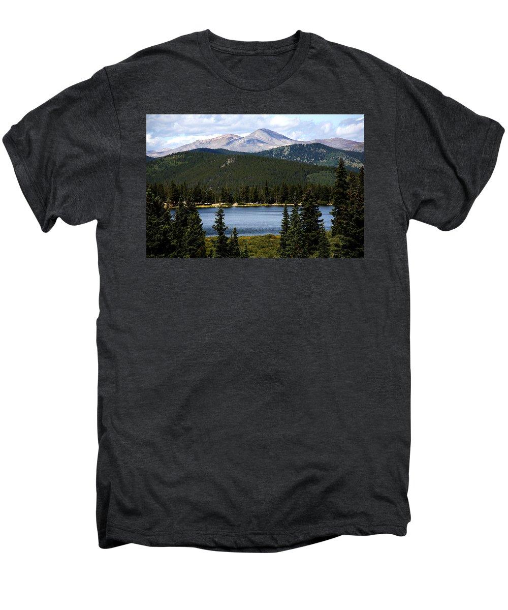 Colorado Men's Premium T-Shirt featuring the photograph Echo Lake Colorado by Marilyn Hunt