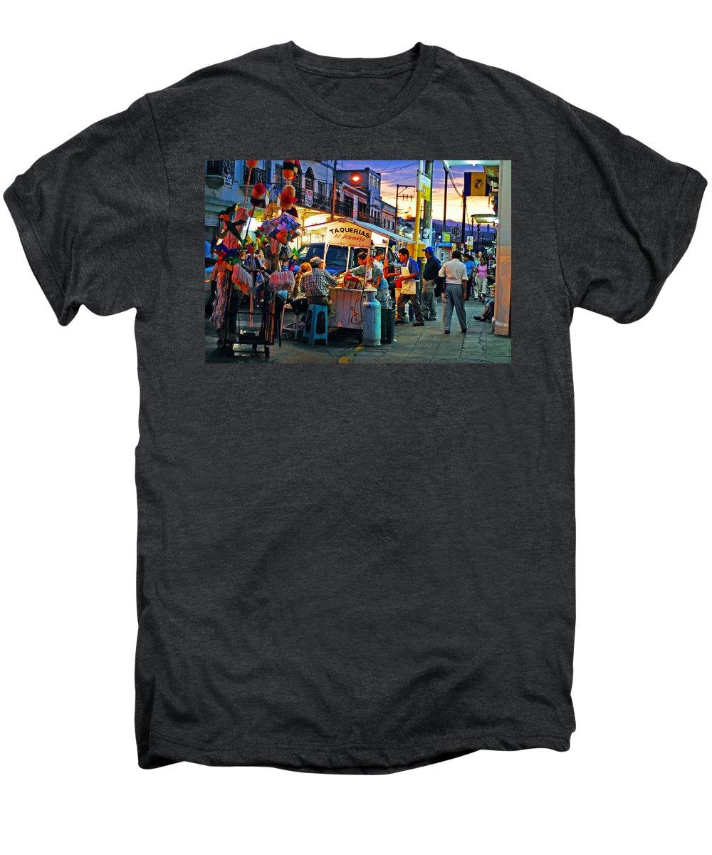 Skip Hunt Men's Premium T-Shirt featuring the photograph El Flamazo by Skip Hunt