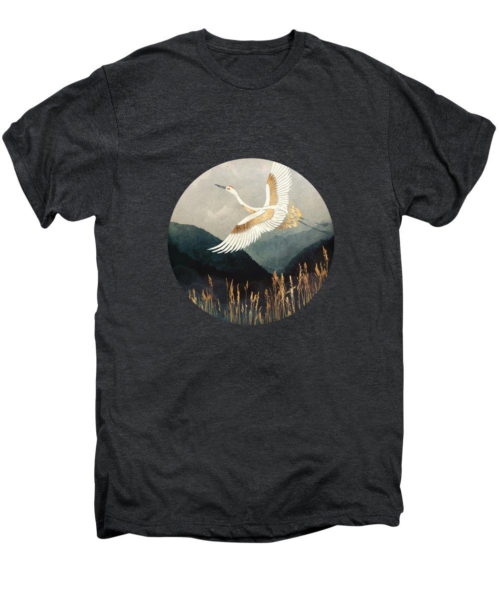 Crane Premium T-Shirts