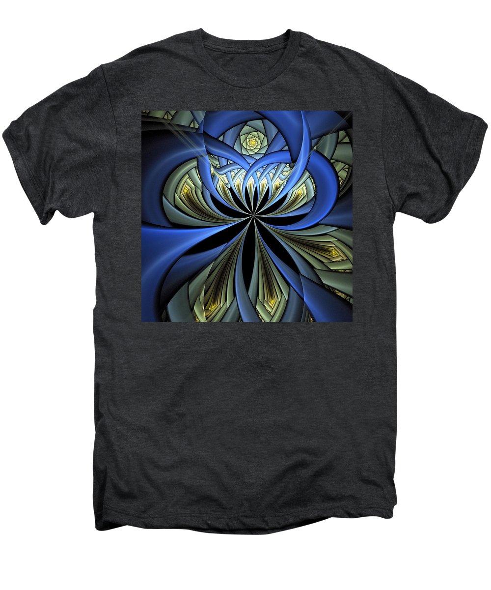 Digital Art Men's Premium T-Shirt featuring the digital art Embedded by Amanda Moore