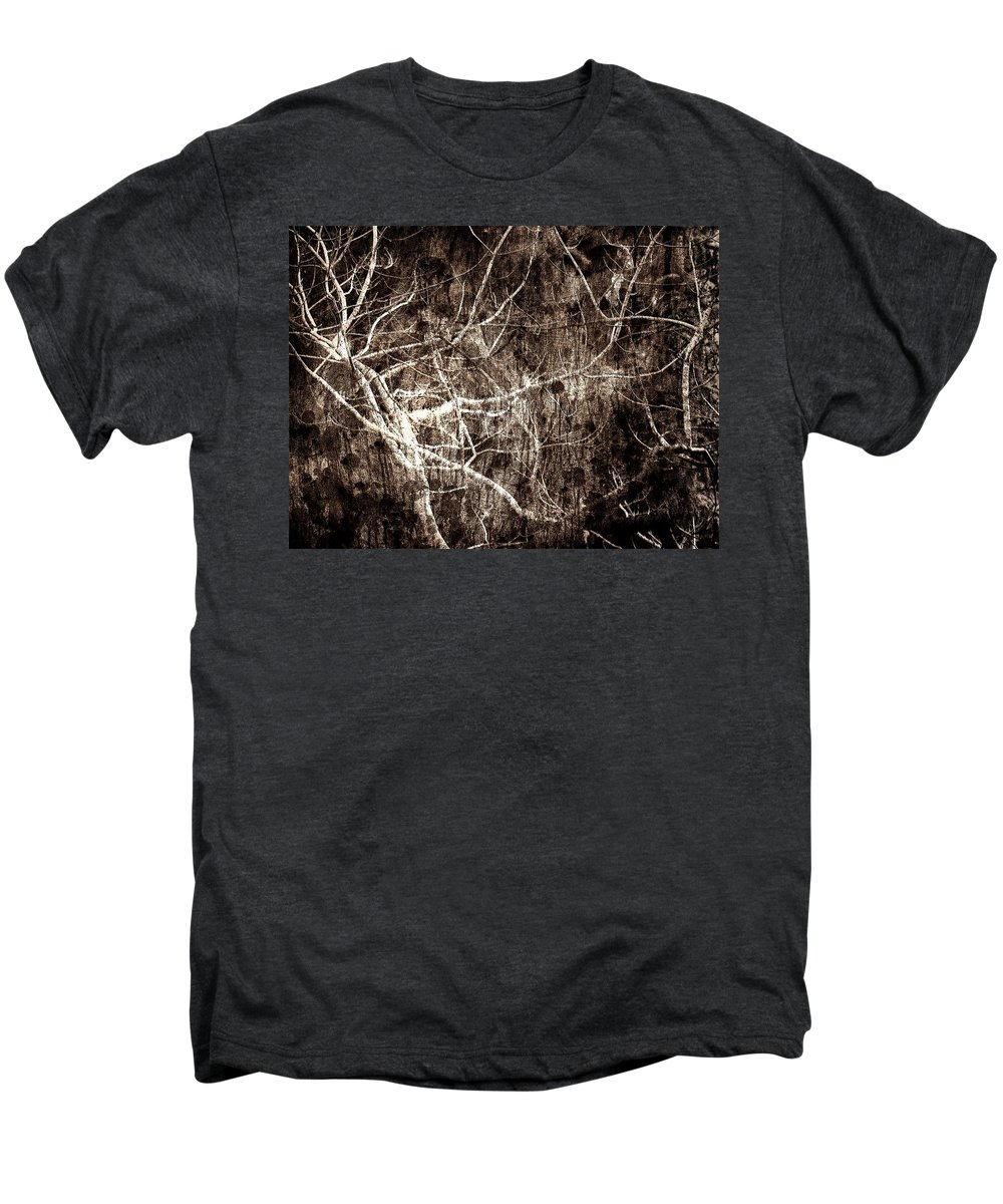 Tree Men's Premium T-Shirt featuring the photograph Endless by Gaby Swanson