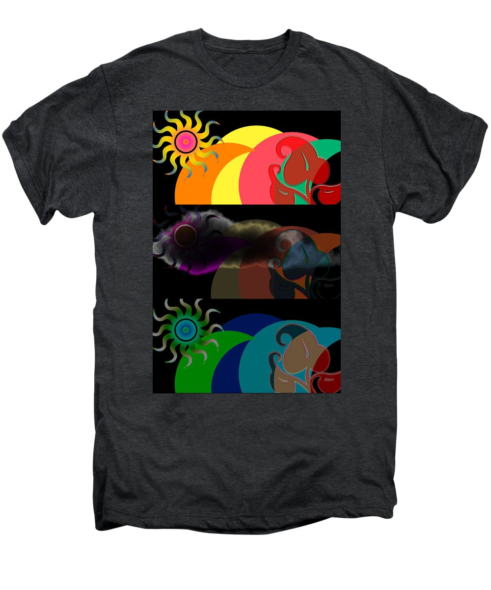 Men's Premium T-Shirt featuring the digital art Environment by Clayton Bruster