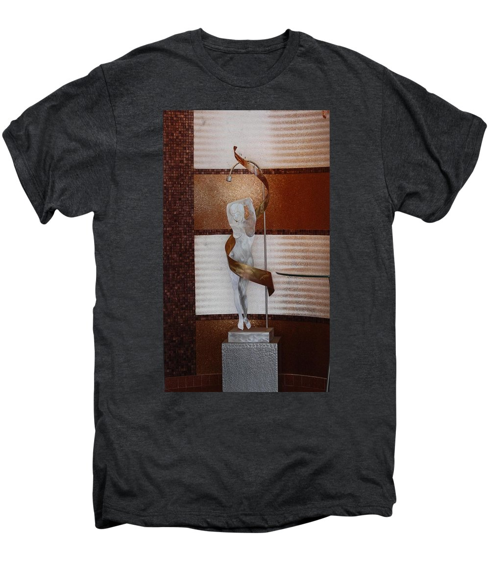 Statue Men's Premium T-Shirt featuring the photograph Erotic Museum Piece by Rob Hans