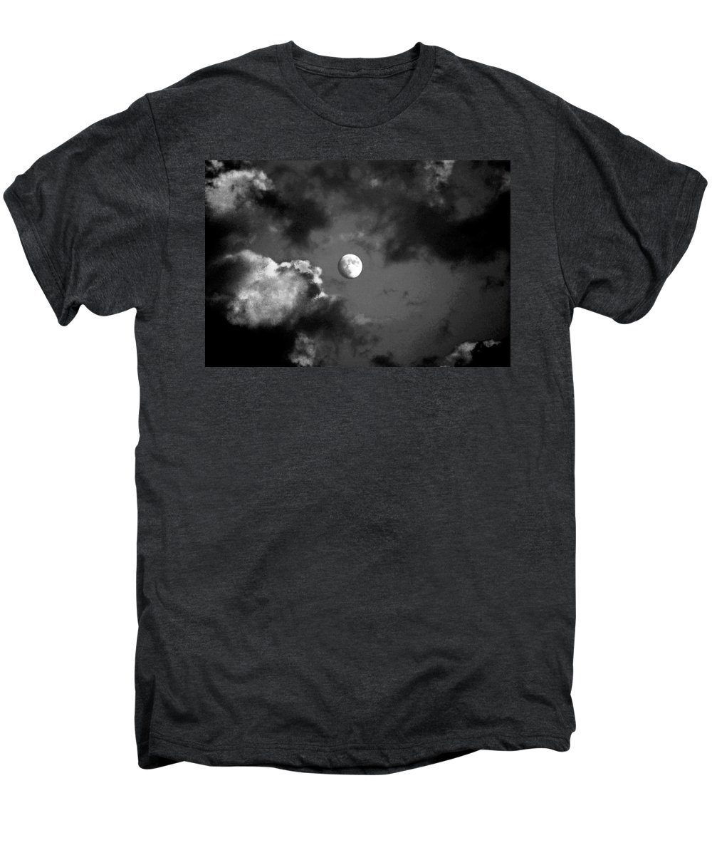 Sky Men's Premium T-Shirt featuring the photograph Eye In The Sky by Steve Karol
