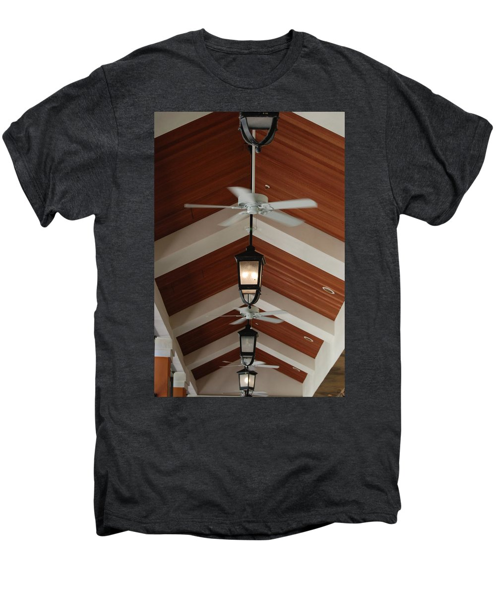 Fans Men's Premium T-Shirt featuring the photograph Fans And Lights by Rob Hans