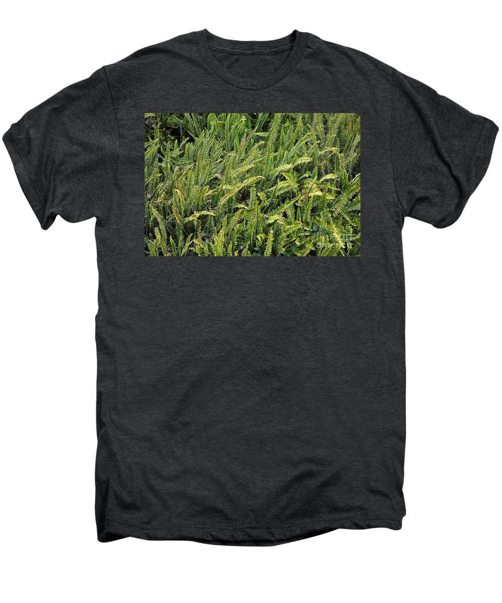 Clay Men's Premium T-Shirt featuring the photograph Fern by Clayton Bruster