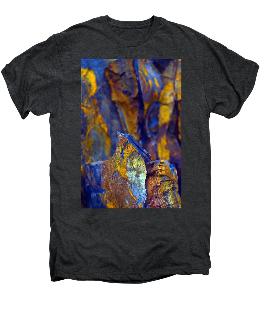 Texture Men's Premium T-Shirt featuring the photograph First Cut Is The Deepest by Skip Hunt