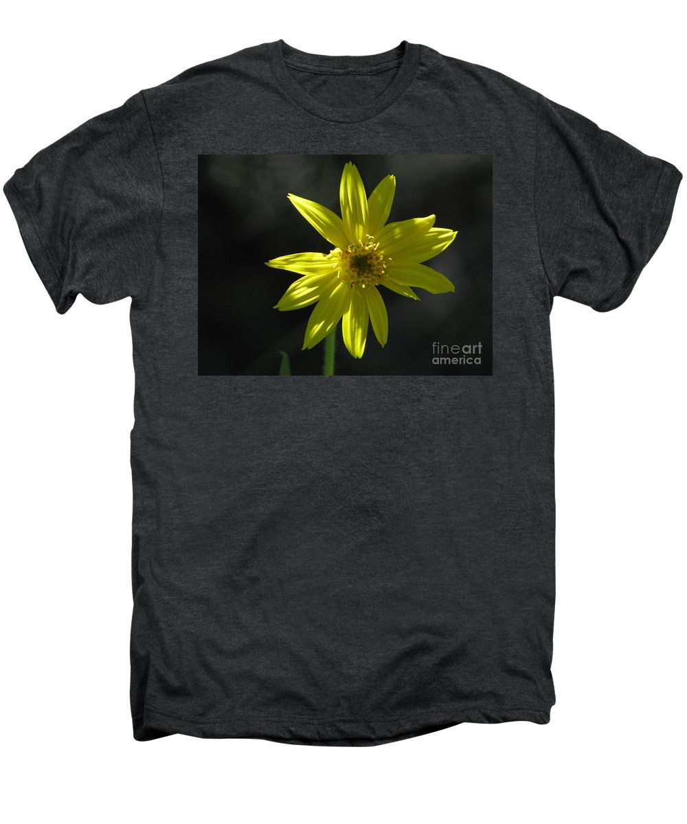 Light Men's Premium T-Shirt featuring the photograph Floral by Amanda Barcon