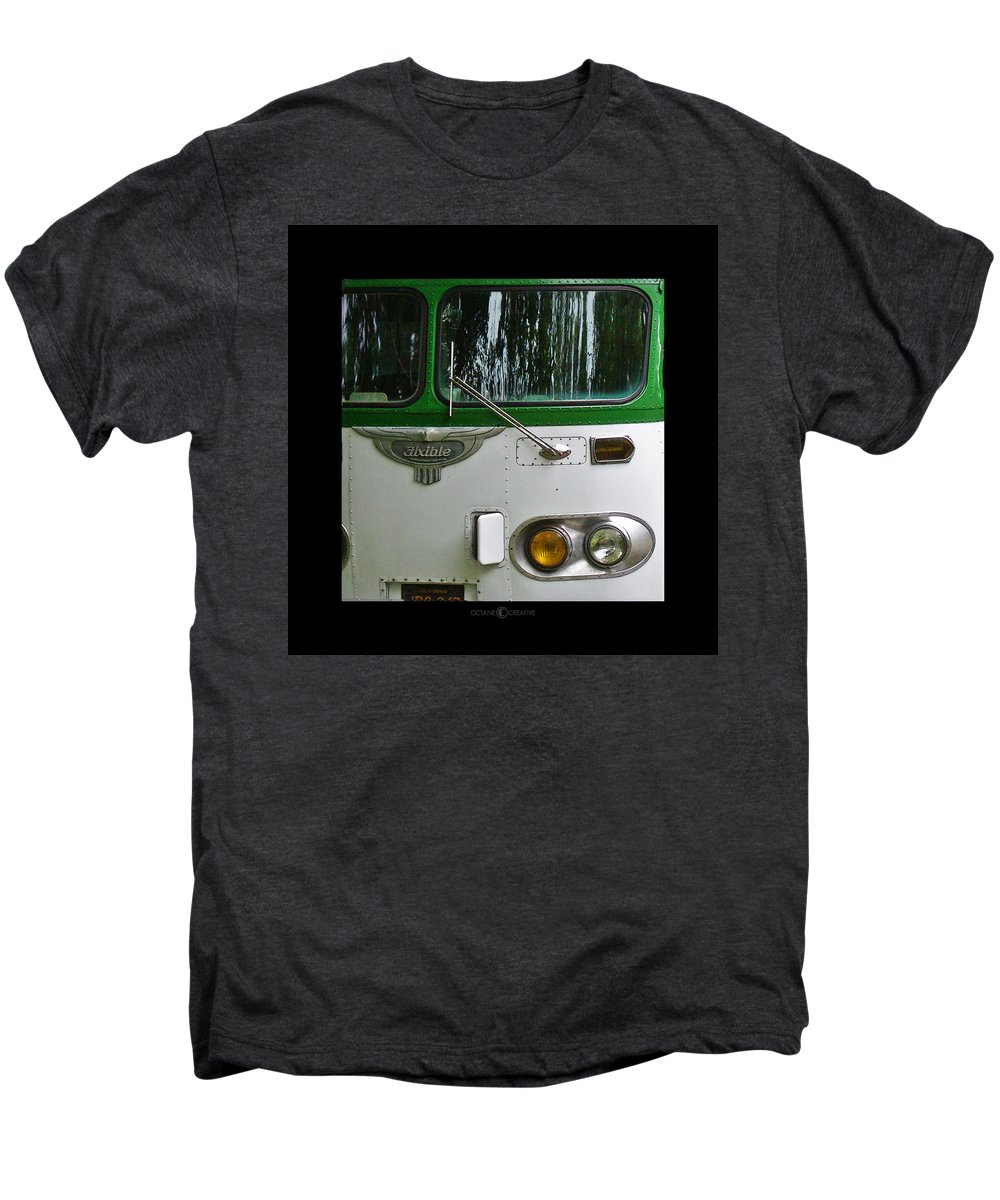 Flxible Men's Premium T-Shirt featuring the photograph Flxible by Tim Nyberg