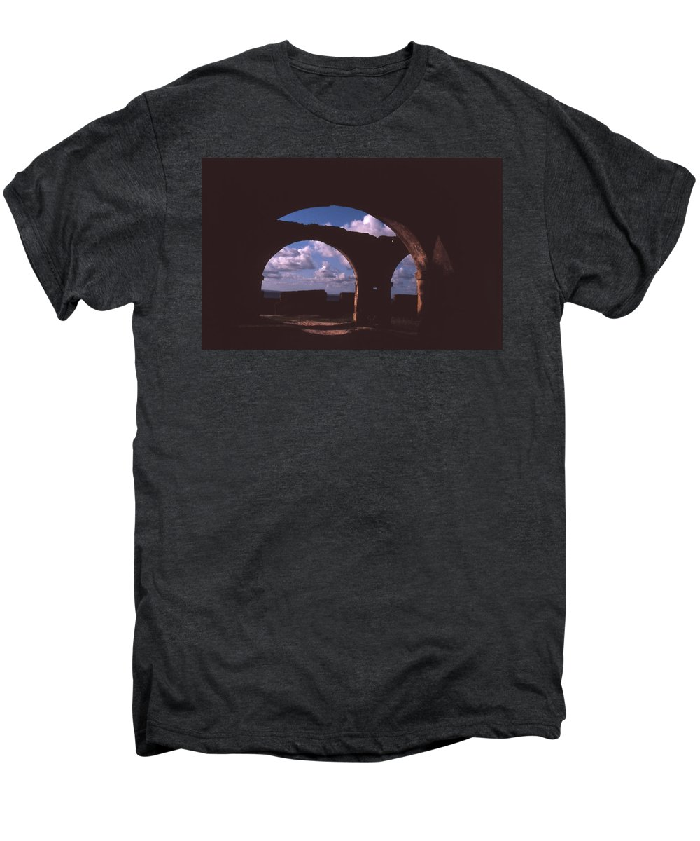 Bahia Men's Premium T-Shirt featuring the photograph Fortaleza De Morro De Sao Paulo by Patrick Klauss