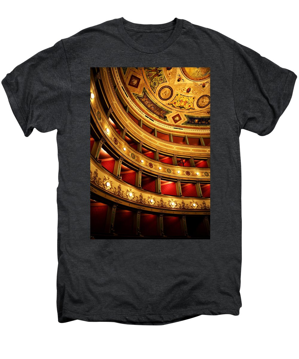 Theatre Men's Premium T-Shirt featuring the photograph Glorious Old Theatre by Marilyn Hunt