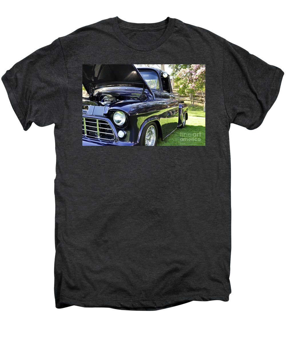 Clay Men's Premium T-Shirt featuring the photograph Grape Fully Blown Pickup by Clayton Bruster