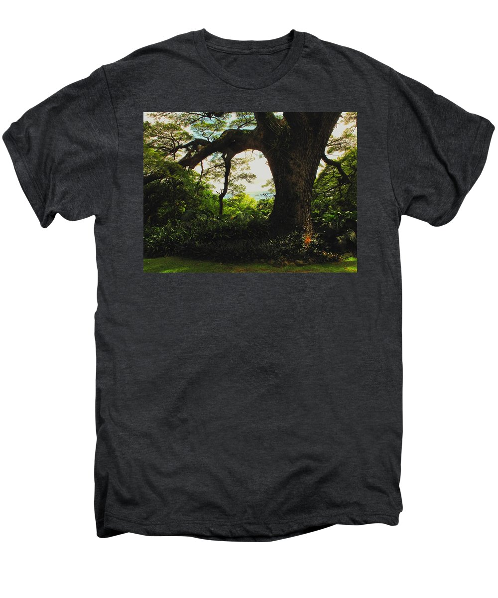 Tropical Men's Premium T-Shirt featuring the photograph Green Giant by Ian MacDonald
