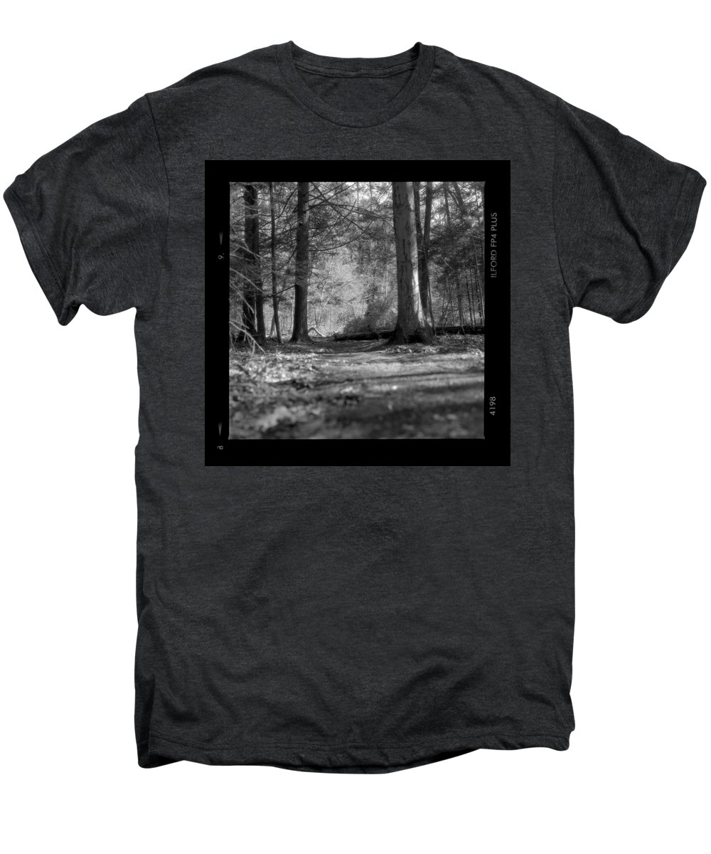 Trees Men's Premium T-Shirt featuring the photograph Ground Floor by Jean Macaluso