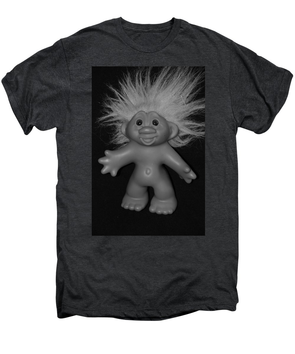 Happy Men's Premium T-Shirt featuring the photograph Happy Troll by Rob Hans