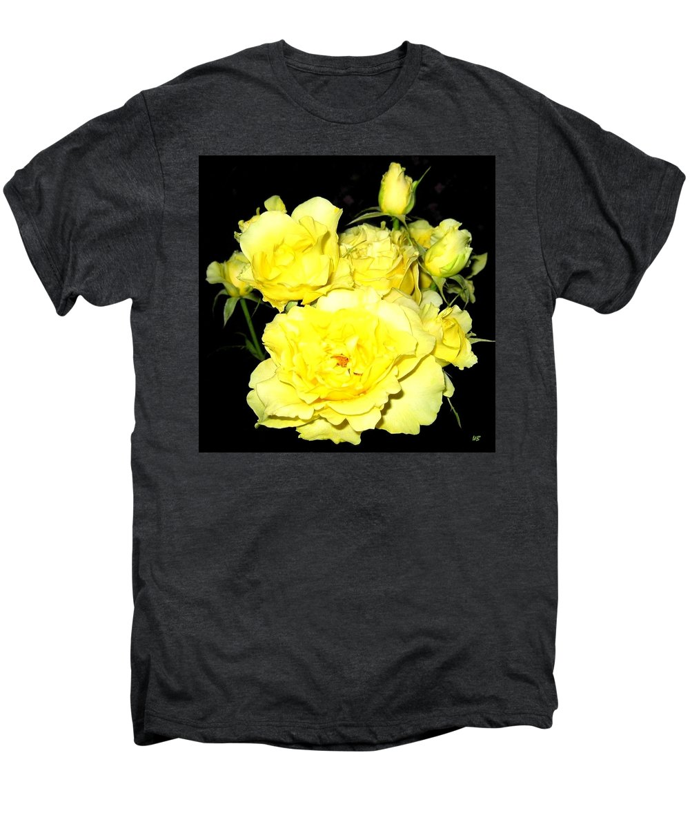 Roses Men's Premium T-Shirt featuring the photograph Heaven Scent by Will Borden