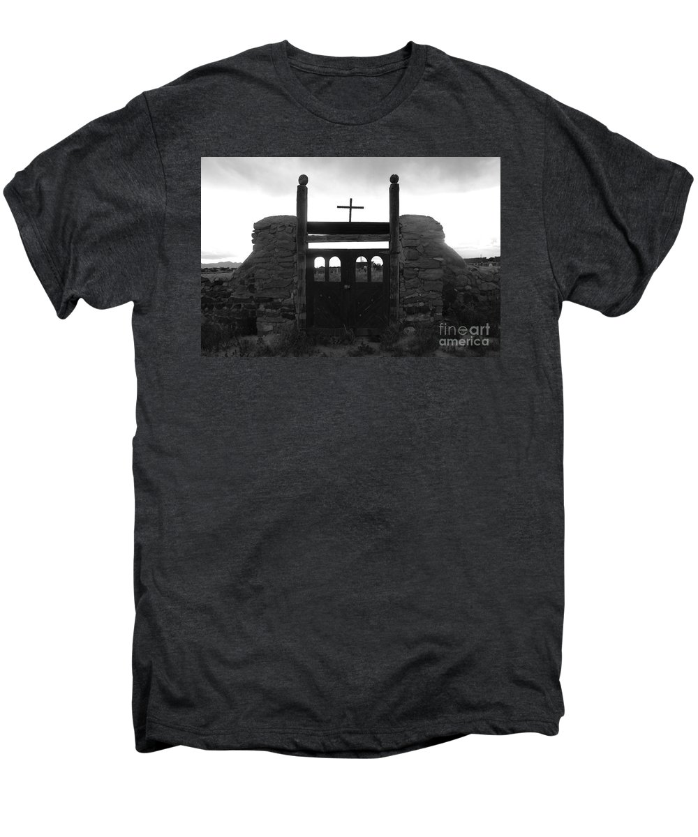 Heaven Men's Premium T-Shirt featuring the photograph Heaven's Gate by David Lee Thompson