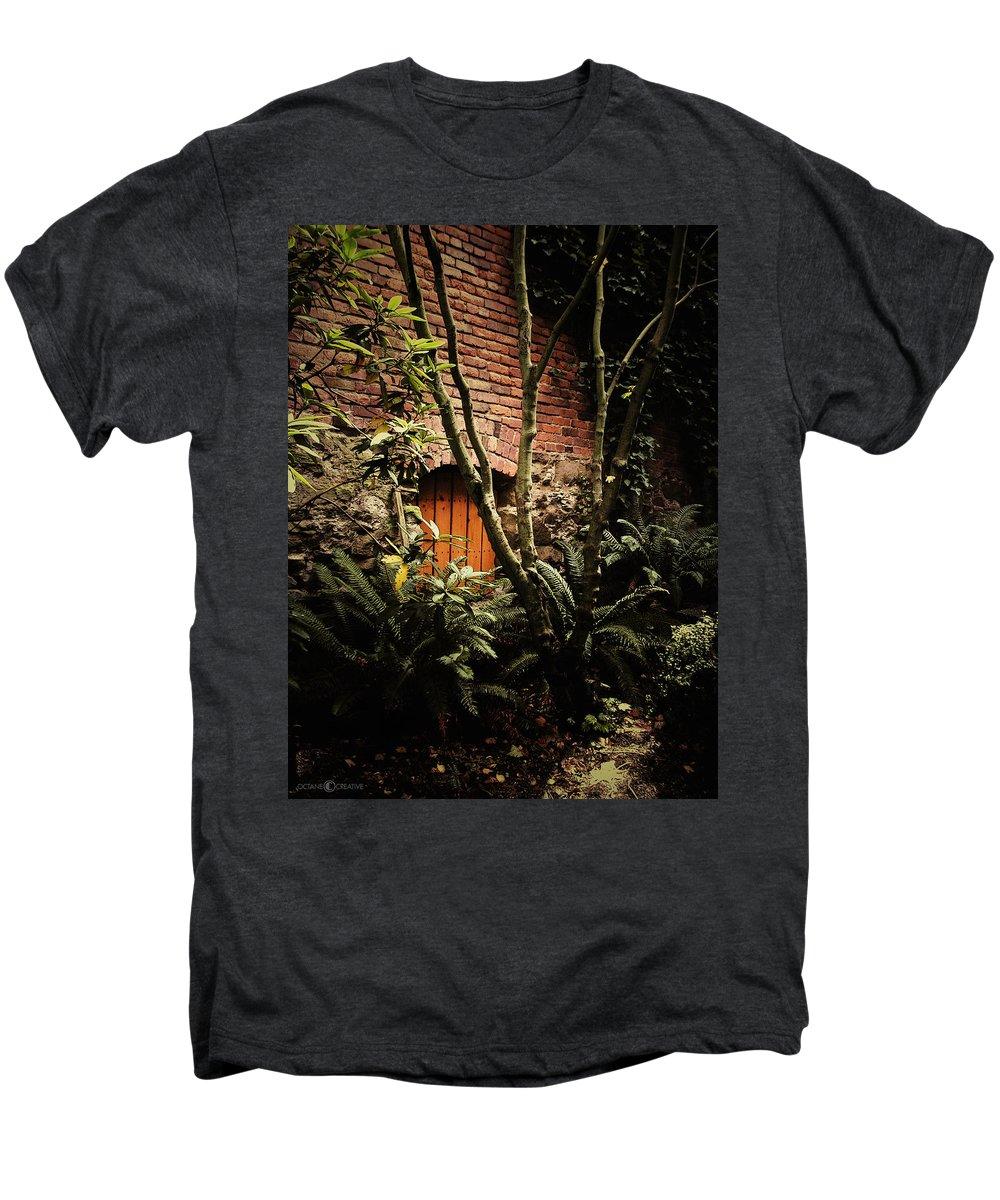 Brick Men's Premium T-Shirt featuring the photograph Hidden Passage by Tim Nyberg