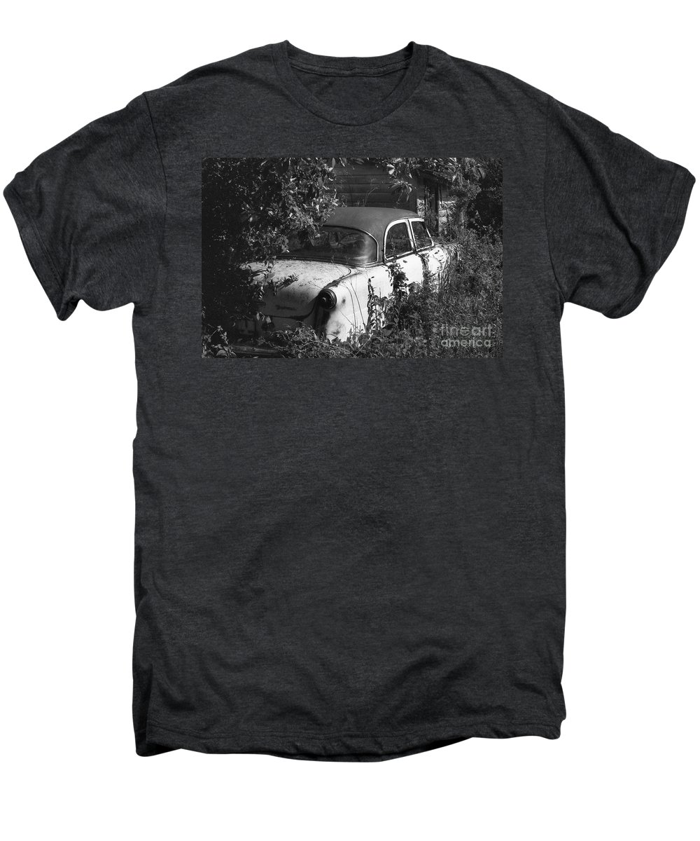 Abandoned Men's Premium T-Shirt featuring the photograph Hidden Treasure by Richard Rizzo