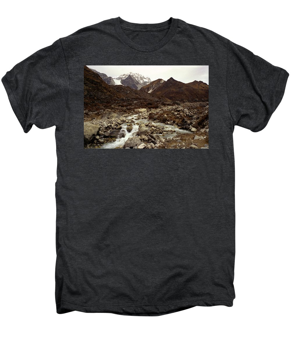 Himalaya Men's Premium T-Shirt featuring the photograph Himalaya by Patrick Klauss