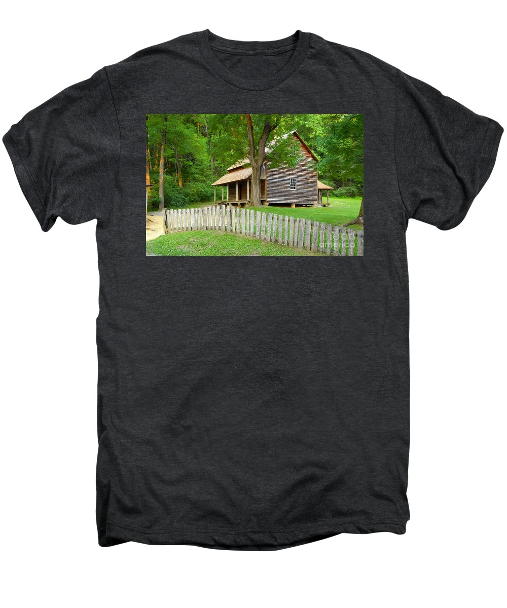 Home Men's Premium T-Shirt featuring the photograph Homestead by David Lee Thompson