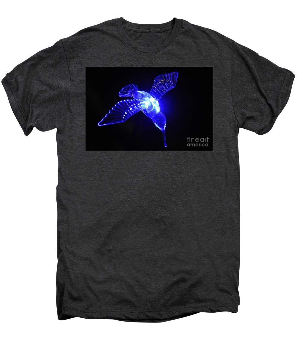 Clay Men's Premium T-Shirt featuring the photograph Humming Bird Light by Clayton Bruster