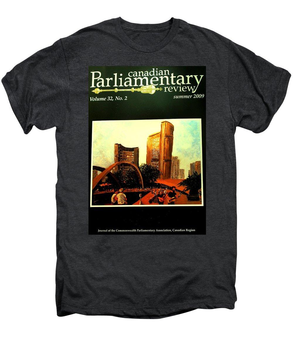 Canada Men's Premium T-Shirt featuring the photograph Incredible by Ian MacDonald