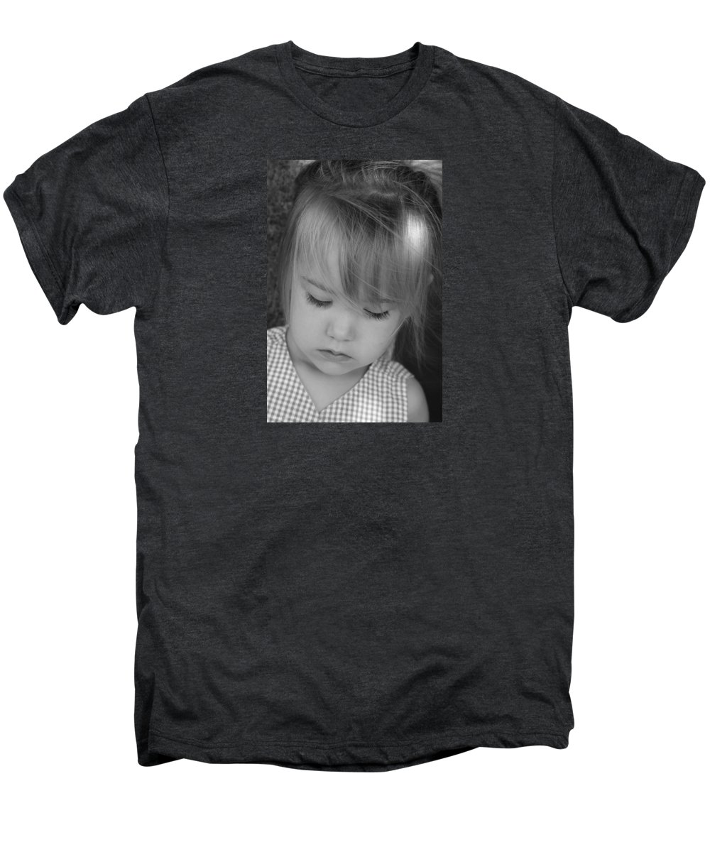 Angelic Men's Premium T-Shirt featuring the photograph Innocence by Margie Wildblood