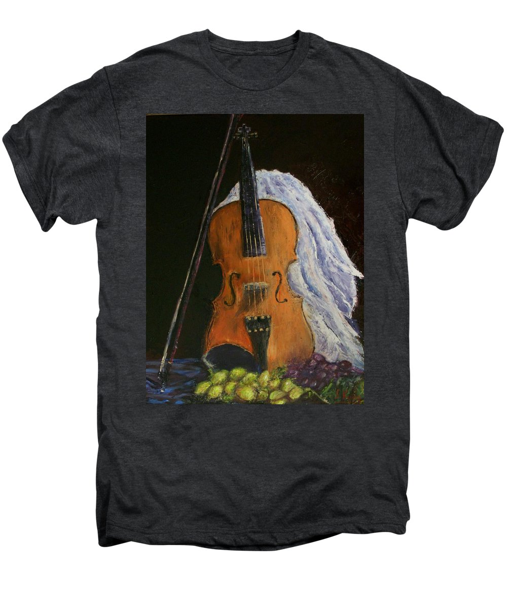 Original Men's Premium T-Shirt featuring the painting Intermission by Stephen King