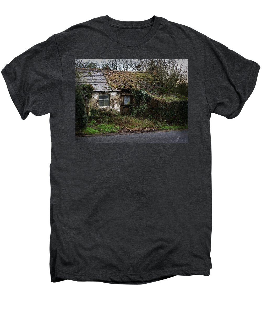Hovel Men's Premium T-Shirt featuring the photograph Irish Hovel by Tim Nyberg
