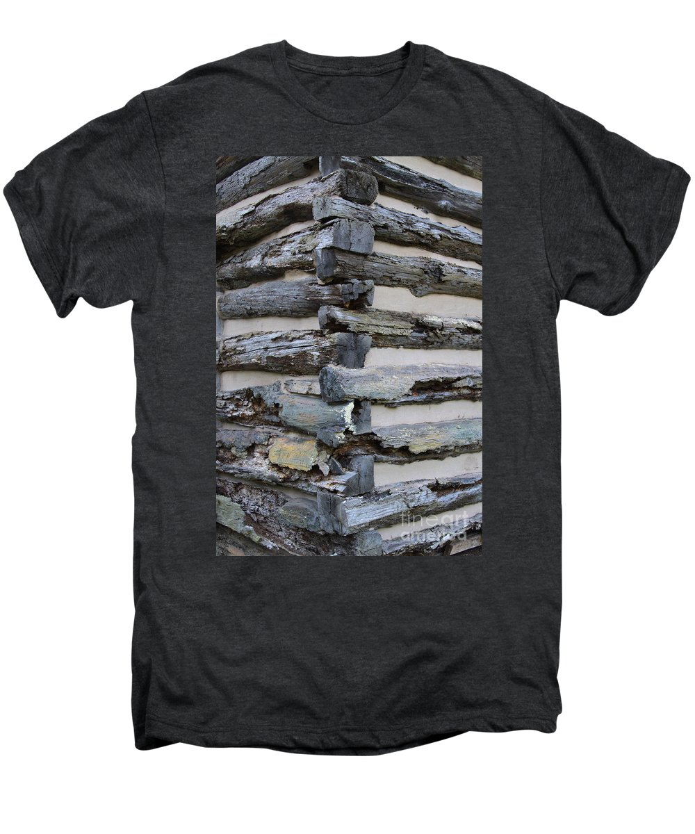 Cabin Men's Premium T-Shirt featuring the photograph Jiont-ing by Robert Pearson
